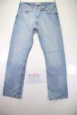 Levi's 506 Standard (Cod. Y1338) tg 47 W33 L34 jeans vita alta usato vintage