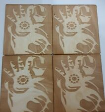 More details for iron man coasters set of 4