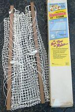 Hammock Nylon Net Polybar Spreaders Full Size Comfort No Stand Algoma Usa