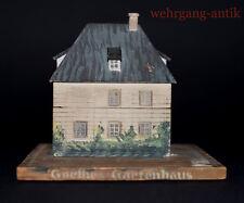 Goethes Gartenhaus als Spardose, von Hand gearbeitetes Unikat um 1920