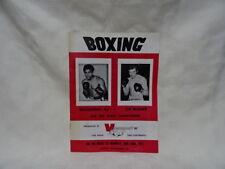 Collectable Muhammad Ali v Joe Bugner 1975 Boxing Programme