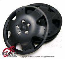 "4pc Set 16 inch Wheel Rim Skin Cover Hubcap Hub caps (16"" Matte Black Style#720)"