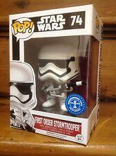 FUNKO POP! Star Wars (Stormtrooper & Blaster) #74 UT Exclusive Vinyl Figure NEW