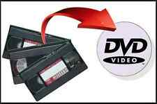 VHS Tape to DVD Conversion Fast & Reliable