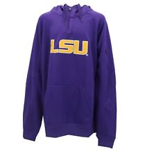 LSU Tigers Official NCAA Apparel Adult Size Hooded Sweatshirt With Zipper New