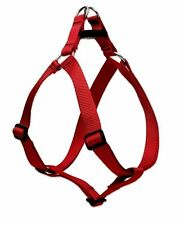 """Lupine Dog Step-In Harness 3/4"""" RED 15""""-21"""" Nylon Adjustable New USA"""
