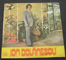 Ion Dolanescu - Romante si cantece indragite electrecord lp