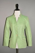 BANANA REPUBLIC NEW $188 Green Tweed Structured Jacket Size 8P