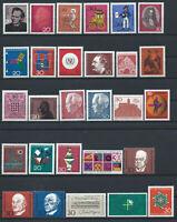 Allemagne - RFA Lot 28 Tp Neuf** (MNH) 1966-68 (Lot V)