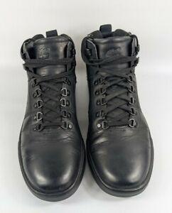 Timberland Groveton Black Leather Hiking Boots Uk 8 Eu 42