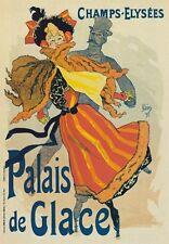 AP120 Vintage Champs Elysees Jules Cheret Advertisement Poster Card Print A5
