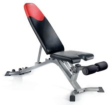 Bowflex SelectTech 3.1 Adjustable Bench Red Black NEW Weight Gym Body Building