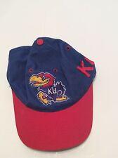 Kansas Jayhawks 2-Tone Adjustable KU Hat Cap The Game NCAA Adult Size 6 7/8