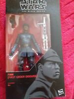 Star wars 6 inch black series Finn First Order Disguise Hasbro Action figure