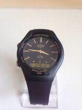 CASIO AW-90H-9EV Mens Dual Time Analog/Digital Quartz Wrist Watch Watches Black