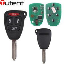 NEW Remote Key 3+1 Button ID46 Chip 433MHz for Chrysler Dodge Jeep FCC M3N