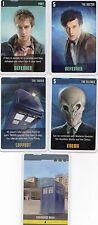 Doctor Who the Card Game 2009 c7e - 5 Art Cards: Shepherds Bush, the Tardis