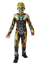 Kids Boys Childs Bumble Bee Fancy Dress Costume Outfit Transformers 13-14 Yrs