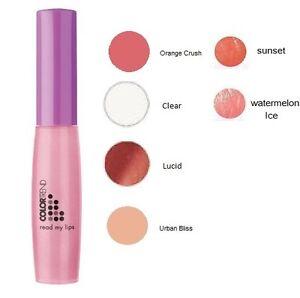 Avon Lip Gloss - ColorTrend Read My Lips Lip Gloss - Colour Trend Color Cosmetic