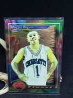 1993-94 Topps Finest Basketball #53 Muggsy Bogues Charlotte Hornets Wake Forest