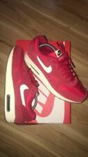 Rare 2014 Nike Air max 1 Suede Pack University red Size 9.5US Sean wotherspoon