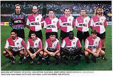 FEYENOORD FOOTBALL TEAM PHOTO>1991-92 SEASON