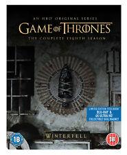Game of Thrones: Season 8 [2019] (4K Ultra HD + Blu-ray Steelbook) Emilia Clarke