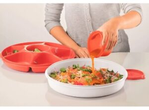 Tupperware Large Serving Center With Handy Bowl Free Postage