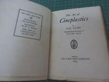 ELIE FAURE THE ART OF CINEPLASTICS RARISSIME EO 1923 1/25 CHARLIE CHAPLIN CINEMA