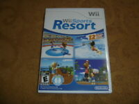 Wii Sports Resort (2009) Nintendo Wii Classic Game Good Condition Complete