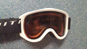 Smith Small White Ski Goggles Kids Snow Ski Snow Board SK7