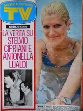 TV Sorrisi e Canzoni n°31 1972 Antonella Lualdi - Minnie Minoprio -  [C71]