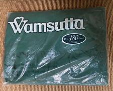 Wamsutta Vintage Ruffled Standard Pillow Sham Forest Green No-Iron Ultracale