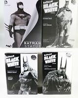 DC DIRECT Batman Black and White Statue Lot - Kelly Jones 1st edition & More
