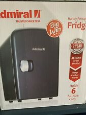 Admiral Handy Personal Fridge At Home Or On The Go Keep Cold Or Hot New