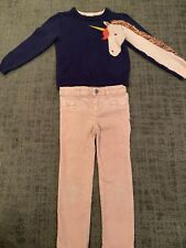 Toddler Girls Sweater & Pants Outfit Size 5 Years Gap Kids and Cat & Jack