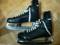 Vintage NHL Approved SHERBROOKE Hockey Ice Skates, Men's Size 9