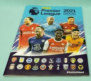 Panini Football 2021 Premier League Sammelalbum Leeralbum Album