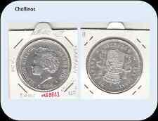 5 PESETAS ALFONSO XIII  AÑO 1894 *18 *94 PG.V ( EBC-/EBC ) ( MB8823 )