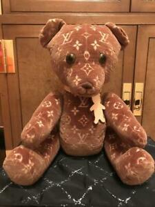 Louis Vuitton Monogram Dudu Teddy Bear 18 inch limited to 500 very rare products
