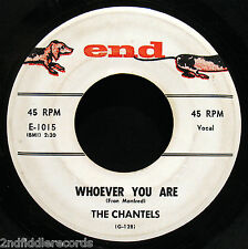 THE CHANTELS-Every Night+Whoever You Are-Girl Group Soul+Doo Wop 45-END #1015