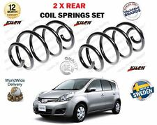 FOR NISSAN NOTE MPV E11 1.4 1.6 1.5 DCI 2006->NEW 2 X REAR COIL SPRINGS SET