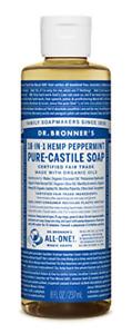 Dr. Bronner's - Pure-Castile Liquid Soap Peppermint, 237 ml