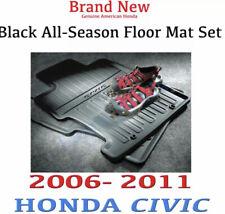 NewGenuine OEM Honda Civic Black All Season Floormat 2006 - 2011 (REAR MAT ONLY)