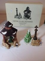 Dept. 56 Heritage Village Collection Accessories Town Well And Holy Cross