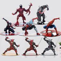 MARVEL - Deadpool, Spiderman, venom, Carnage, Figuras Acción  varios modelos
