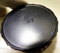 "Soligor ""N"" F mount Rear Lens Cap for Nikon Nikkor Ai-s     -  Free Shipping USA"
