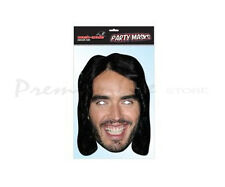 Russell Brand Character Face Mask Fancy Dress Party Face Mask