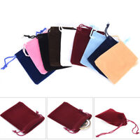 10 pcs Velvet Drawstring Pouches Jewelry christmas Gift Bag packing Bags 7x DD