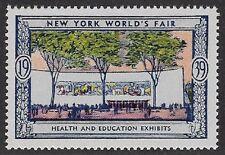 Usa Poster stamp:1939 New York World's Fair: Health & Education Exhibit-dw433/16